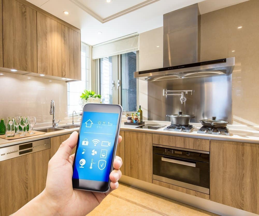 Residential smart home wiring for electrical lighting system with hand held smart phone app